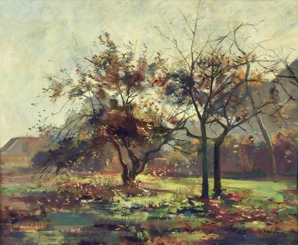 Landschap herfst Willem Bzn
