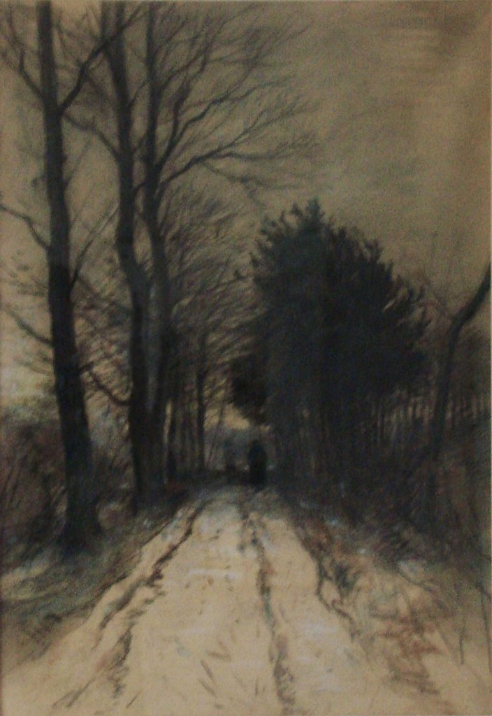 Landschap winter Willem Bzn