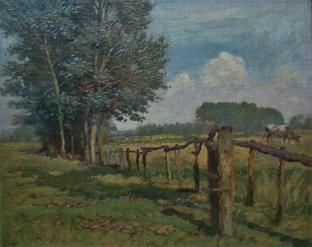 Landschap  voorjaar Willem Bzn